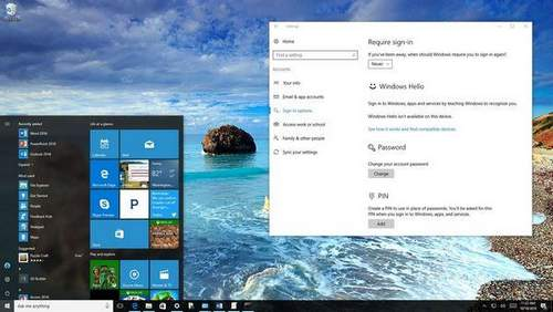Disable Password Entry When Waking Up Windows 10