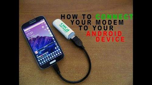 How to Connect a Usb Modem to a TV
