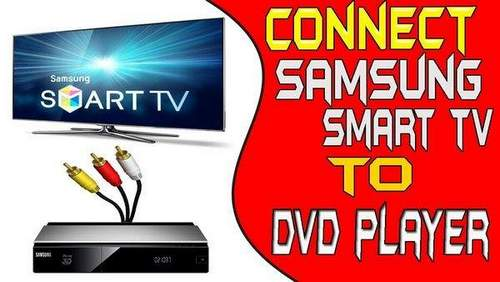 How to Connect DVD to Smart TV