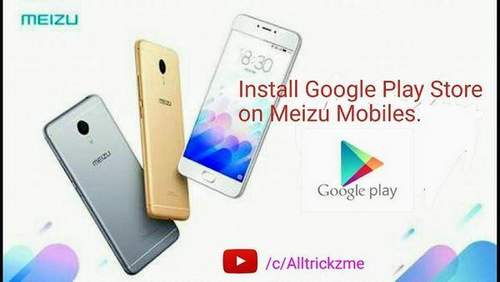 How To Install Google Play Market On Meizu Smartphone
