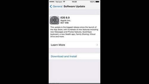 How To Install Ios 8 On Iphone And Ipad