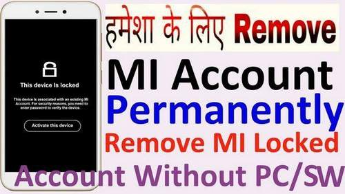 How To Remove Mi Account From Xiaomi Phone