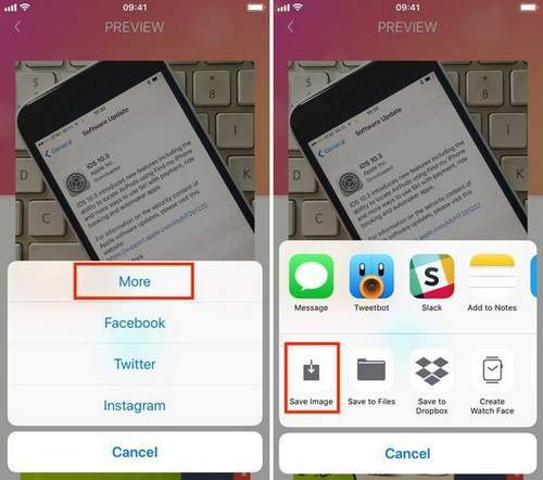 How To Saves And Photos From Instagram To Iphone