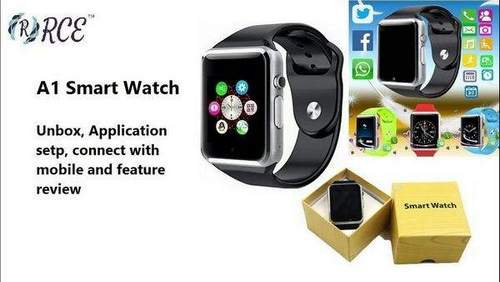 How to Set Up Smart Watch A1