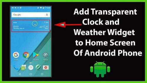 How to Set Up Weather On Huawei