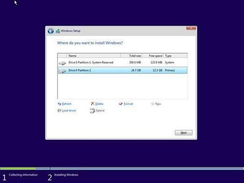 How To Split A Drive In Windows 10 During System Installation