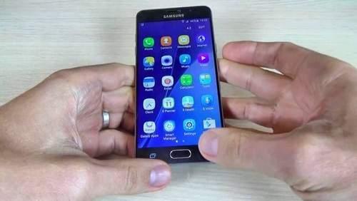 How To Take A Screenshot On Samsung A3