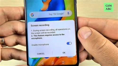 How to Take from the Huawei P30 Screen