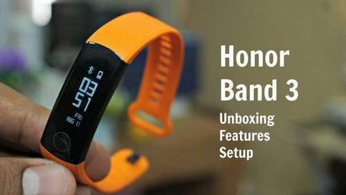 Huawei Honor Band 3 Setup