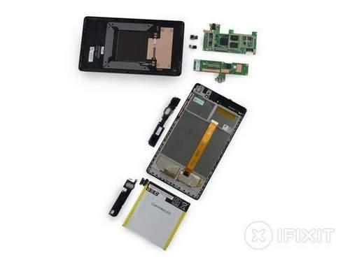 Ifixit Disassembled Second-Generation Google Nexus 7