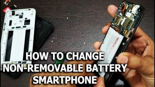 Replacing A Non-Removable Battery In A Smartphone