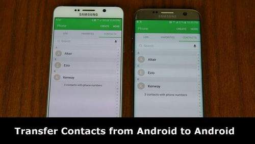 Transfer Phone Book From Android To Android