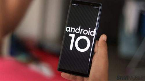 Update Note 9 to Android 9