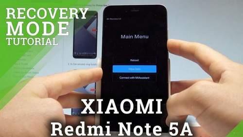 Xiaomi Redmi 5a Firmware Recovery