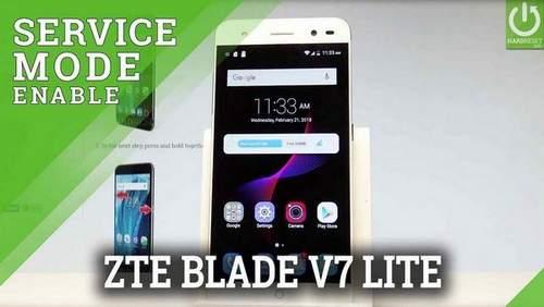Zte Blade V7 Lite Codes
