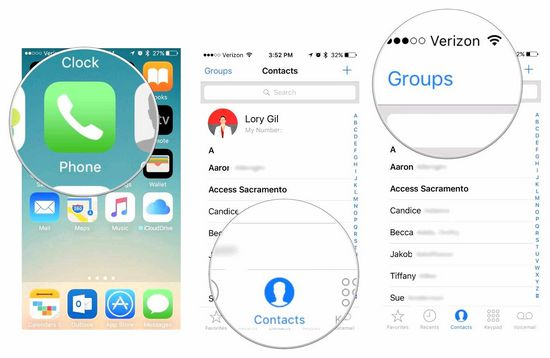Contacts are missing on iPhone What to do