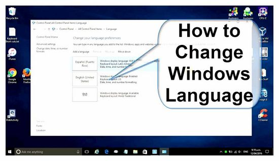 How to Change the Language on an ASUS Laptop