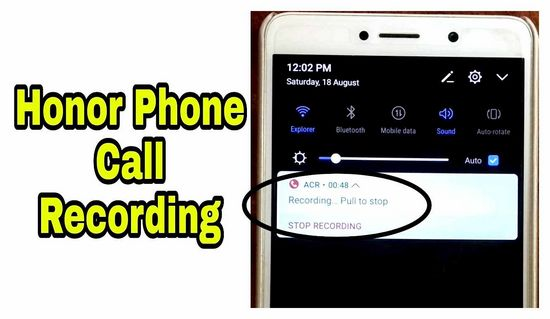 How to Record a Call on Honor Phone