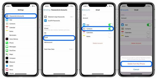 How to Remove Contact From iPhone Phone