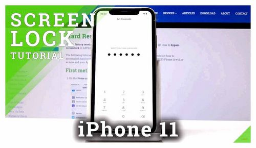 How To Set A Password On iPhone 11