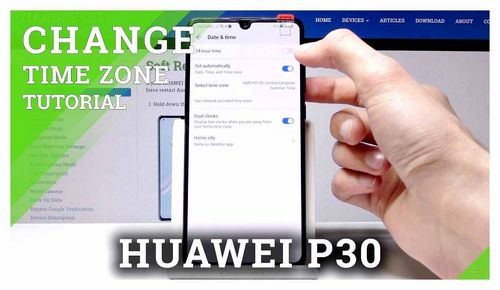 How To Set Time On Huawei Phone