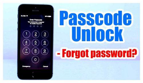 How To Unlock iPhone 5s If Forgot Password