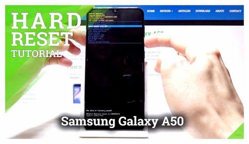 How To Unlock Samsung A50 If Forgot Password