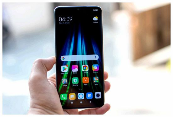 Setting up Xiaomi Redmi Note 8 Phone