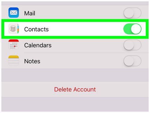 Transfer Contacts From iPhone Via Gmail