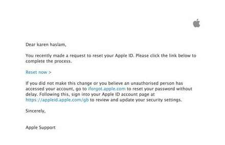 Apple, password, recovery, email